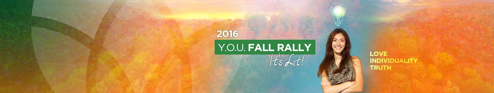 2016 Y.O.U.  <br />Fall Rally
