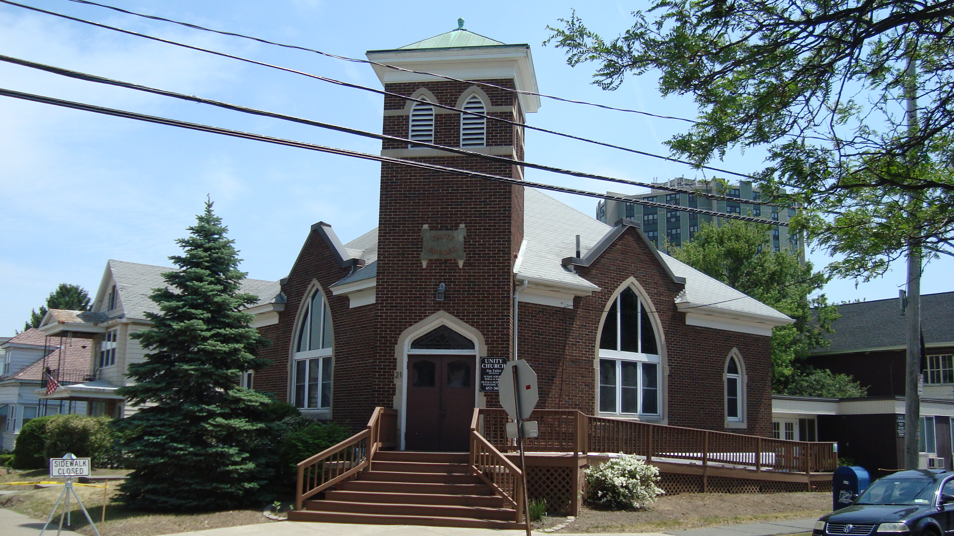 Unity Church in Albany